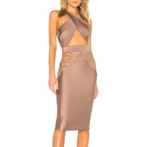 Michael Costello Philip Midi in Taupe